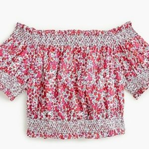 J crew, women's crop top. Sz Medium